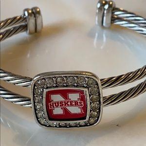 Nebraska Huskers bracelet